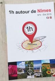edition 1heureautour 1H  autour  nimes-montpellier ales print magazine livre touristique languedoc roussillon (1)