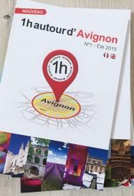 edition 1heureautour 1H  autour  nimes-montpellier ales print magazine livre touristique languedoc roussillon (3)
