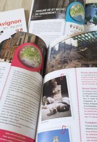 edition 1heureautour 1H  autour  nimes-montpellier ales print magazine livre touristique languedoc roussillon (4)