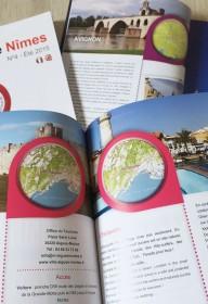 edition 1heureautour 1H  autour  nimes-montpellier ales print magazine livre touristique languedoc roussillon (6)