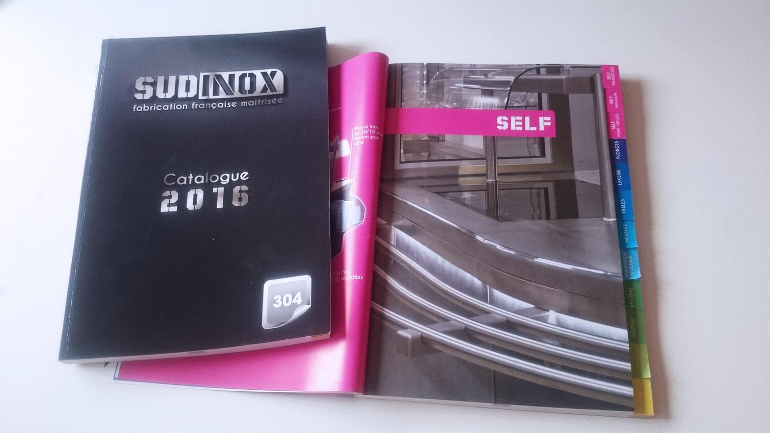 sud inox catalogue graphisme nimes 2016 esprit m dia. Black Bedroom Furniture Sets. Home Design Ideas