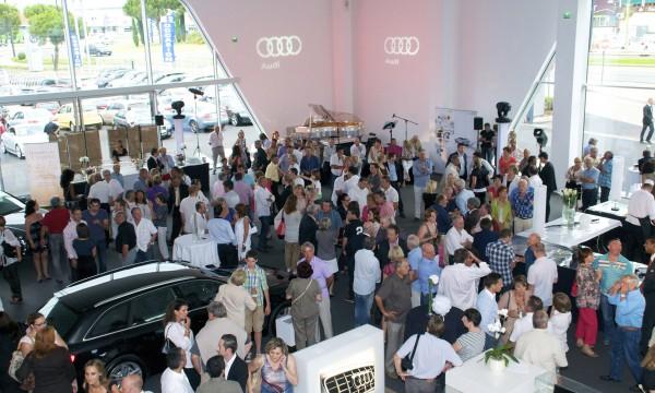 Inauguration Audi  Nîmes
