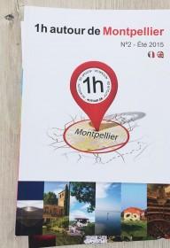 edition 1heureautour 1H  autour  nimes-montpellier ales print magazine livre touristique languedoc roussillon (2)